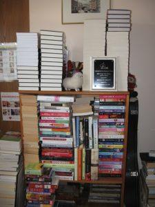 MarilynBrantDesk - office shelves