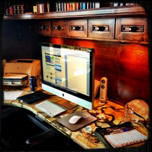 The Desk of James Rollins