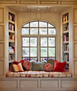 Home Library Designing a Sweet Book Spot