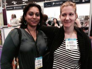 Falguni Kothari and Stacey Agdern