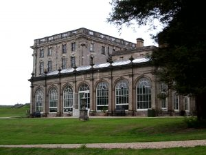 1606 The West Wing of Stoneleigh Abbey, which dwarfs the original building