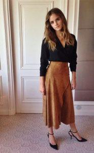 The Best Looks from Emma Watson's Green Carpet Challenge The Classic Ralph Lauren Skirt