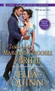 When a Marquis Chooses a Bride1