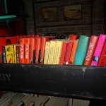 Author books on set of Pretty Little Liars