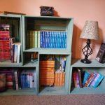 bookcase half