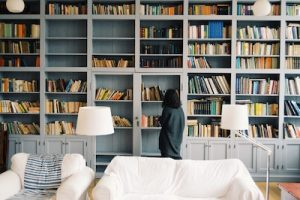 4 Tips For Designing a Home Library